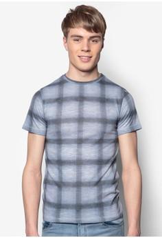 Grid Printed T-Shirt