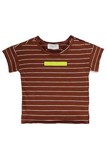 LC Waikiki brown Casual T-Shirt D3C21KA16E60B8GS_1