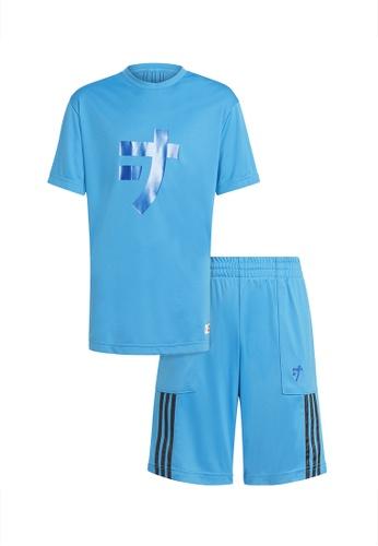 ADIDAS blue unisex lego ninjago jay set 31085KA5DE034CGS_1