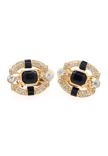 1901 Jewelry black 1901 Jewelry Oval Clip 2722 19910AC38NWFID_1