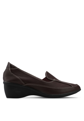Noveni red Casual Loafers 9A772SHED20950GS_1