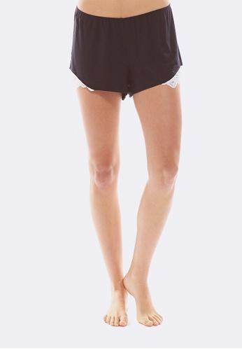 Deshabille black Essential Shorts DE081US0HC6OSG_1