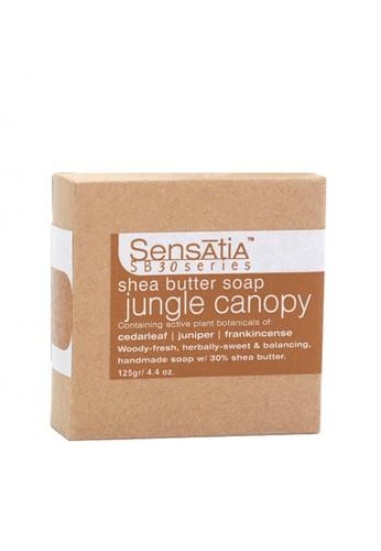 Sensatia Botanicals n/a Sensatia Botanicals Jungle Canopy Shea Butter Soap - 125 gr 7452EBEA5FB592GS_1