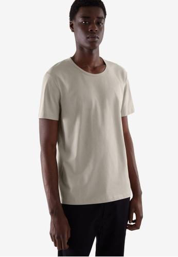 COS grey Regular-Fit T-Shirt 96692AADD23D2DGS_1