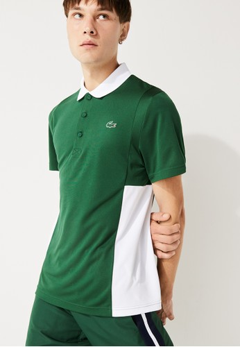 Lacoste multi Men's Lacoste SPORT Colourblock Mesh Breathable Piqué Tennis Polo Shirt 6B727AA9ABBF26GS_1
