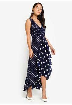 d9086795db7 16% OFF AX Paris Polka Dot Asymmetric Dress S  92.90 NOW S  77.90 Sizes 8  10 12 14
