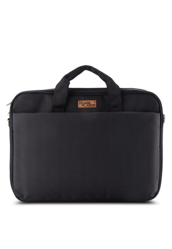 Bagstationz black BAGSTATIONZ Stylish 2-Way 15.6inch Laptop Bag BA607AC18JXHMY_1