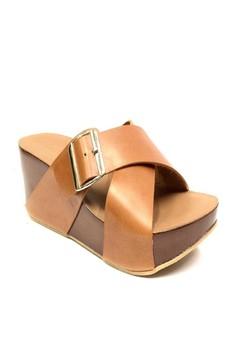 Karen Leather Sandals