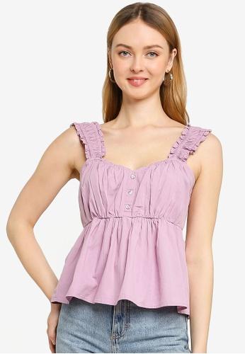 Cotton On purple Felicity Cami A5BF0AAD1FA77FGS_1