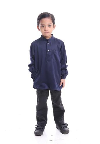 Denai Boutique blue Kurta Ahmad 3B7F8KA33C2858GS_1