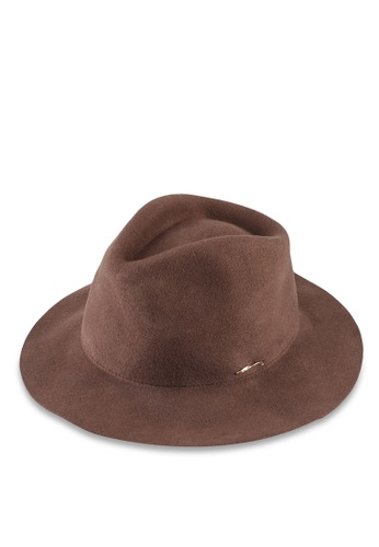 niko and ... brown Fedora Hat BD384AC779A420GS_1