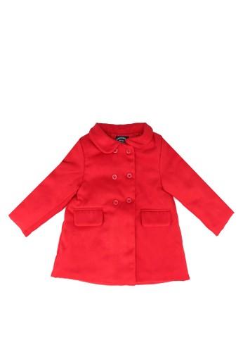 Babybol red Plain Jacket 1B362KAB8F98FBGS_1