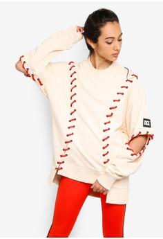 35ab14072e823 Ivy Park beige Craft Line Sweatshirt 8C557AAB56D140GS 1