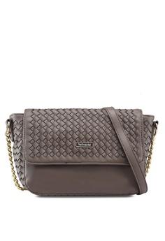 fa2ad64f9d Perllini Mel brown Faux Leather Sling Bag E5B46AC4532417GS 1