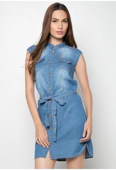 Slim Fit Plain Dress