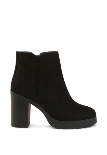 London Rag 黑色 方短靴 208EASHCAF093AGS_1