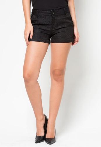 提花短褲, 服飾, zalora時尚購物網的koumi koumi短褲