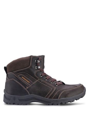 Weinbrenner 褐色 登山靴 075DFSHA758D40GS_1