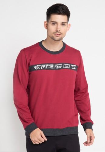 RA Jeans red Ram6 151 R Ls RA626AA0VXWEID_1