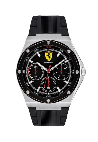 Scuderia Ferrari black Scuderia Ferrari Aspire Black Men's Watch (0830537) 57817ACEE88A7FGS_1