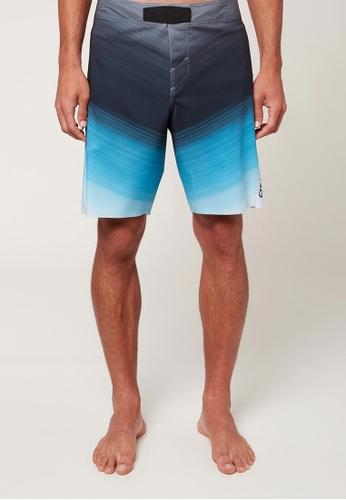 "O'Neill blue O'Neill Hyperfreak Hydro Comp 19"" Boardshorts - Bright Blue B8715US7E863D0GS_1"