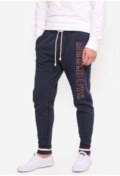 79ff75d9b6 Sizes XS L XL · Abercrombie & Fitch navy Logo Sweatpants C6466AA461723BGS_1