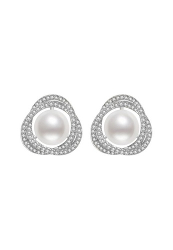 Pearly Lustre silver Pearly Lustre Elegant Freshwater Pearl Earrings WE00183 958E0AC66DB48DGS_1