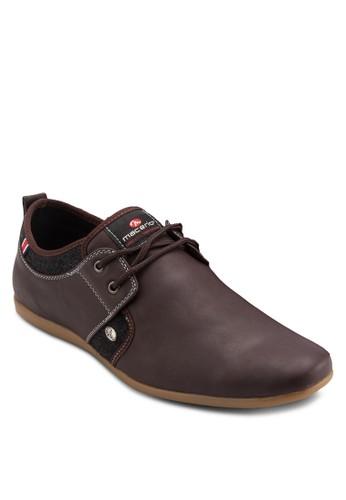 經典仿皮尖頭繫salon esprit 香港帶休閒鞋, 鞋, 休閒鞋
