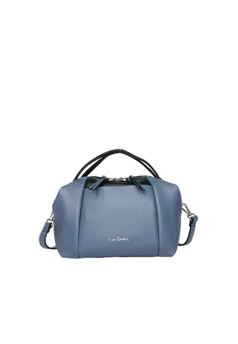 Pierre Cardin blue Pierre Cardin Premium Medium Boston Bag 14A4DAC5745C7AGS_1