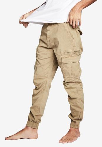 Cotton On 褐色 Urban 慢跑褲 5570FAAB089B71GS_1
