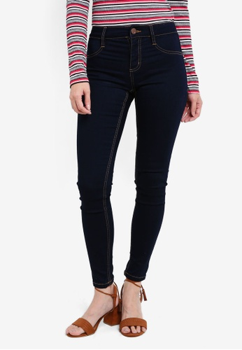 Cotton On blue Mid Rise Jeggings CO372AA0S6CGMY_1