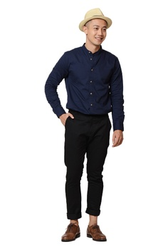 a4991ec759de7 Praise Stand Collar Long Sleeves Shirt S  49.90. Sizes XS S M L XL