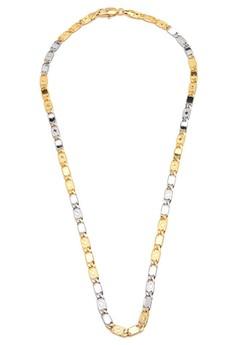 Alexander 18k Plated 18k Tricolor Necklace