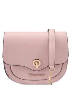 756e2d7ab51e Playboy Bunny pink Playboy Bunny Saddle Bag PL604AC0SMLJMY 1