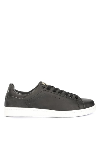 Andy Z black Men's Lace-up Low-cut Sneakers CAF4ASHAFBCE0BGS_1