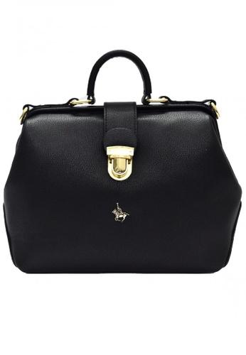 POLOVENZI black POLOVENZI Ladies Hand Bag + Free Gift 2A89AACB7E82FBGS_1