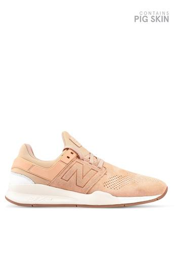 New Balance beige 247 Gelato Shoes 87D47SH567CE7BGS_1