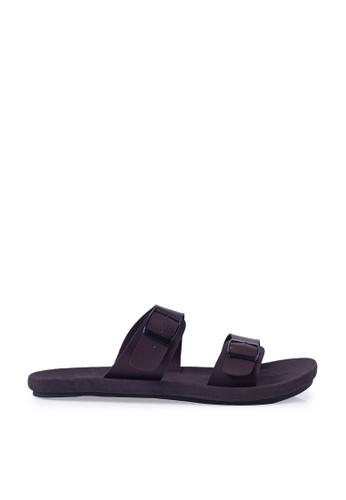 Minarno brown Abel Strap Sandals MI641SH41OSWID_1