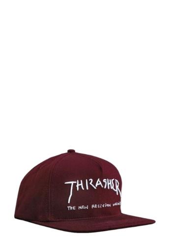 THRASHER red Thrasher New Religion Snapback Maroon 7A508AC9853E54GS_1