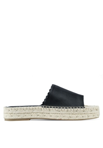 ALDO black Papaikou Wedge Sandals DC406SH65265E2GS_1