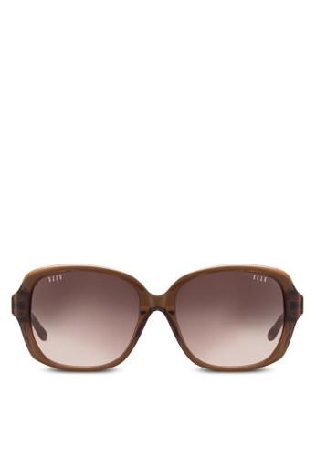 醋酸酯color鏡框太陽眼鏡、 飾品配件、 飾品配件ELLE醋酸酯顏色鏡框太陽眼鏡最新折價