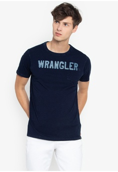 6a71303442bb Shop Wrangler T-Shirts for Men Online on ZALORA Philippines