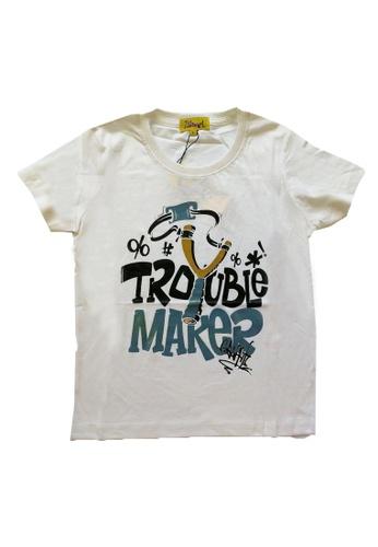 KAMDAR white Boys Short Sleeve  T/shirt BF96EKAD649F1FGS_1