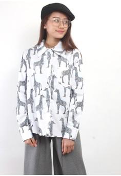 Zebra Pattern Shirt