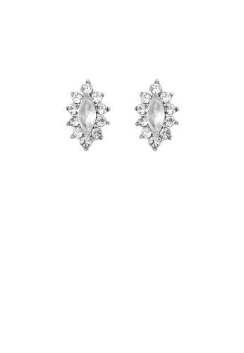 Glamorousky silver Exquisite Marquise Earrings with Silver Austrian Element Crystal 83A32AC1ED1D81GS_1