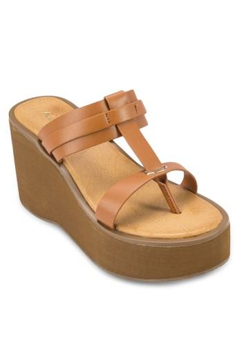 Micha 多帶厚底楔型涼鞋, aldo官網女鞋, 楔形涼鞋
