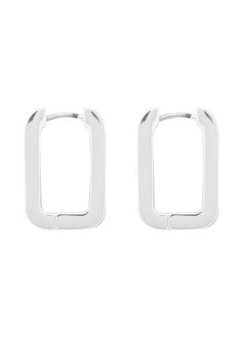 Cos silver Rectangle Hoop Earrings D233FAC5F233E6GS_1