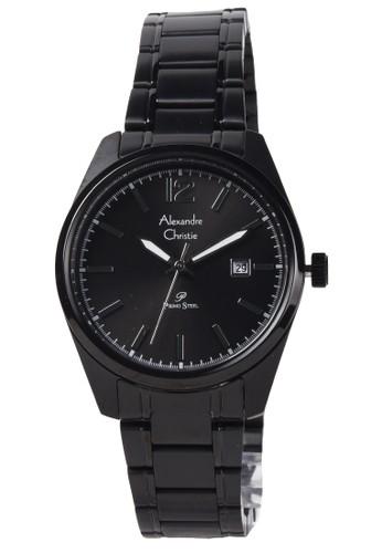 Alexandre Christie black Alexandre Christie - Jam Tangan Wanita - Black - Stainless Steel Bracelet - 1012LDBIGGR 3DAB5ACAD257B5GS_1