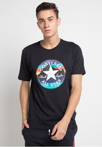 Converse black Mountain Chuck Patch T-Shirt 8F13CAAE32E0E4GS_1