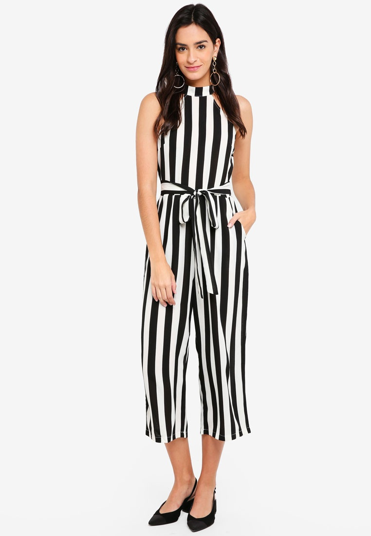 Jumpsuit Paris AX AX Black Paris Stripe UISnn8q